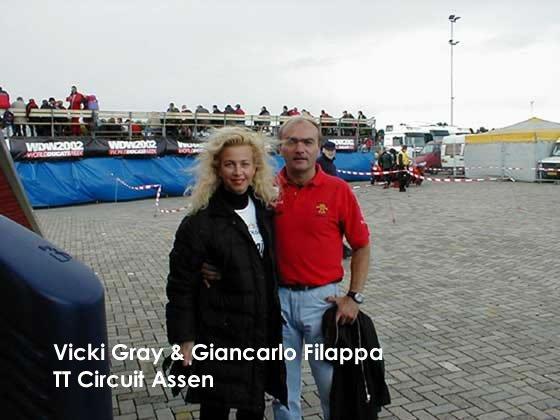 Falappa and Vicki Gray