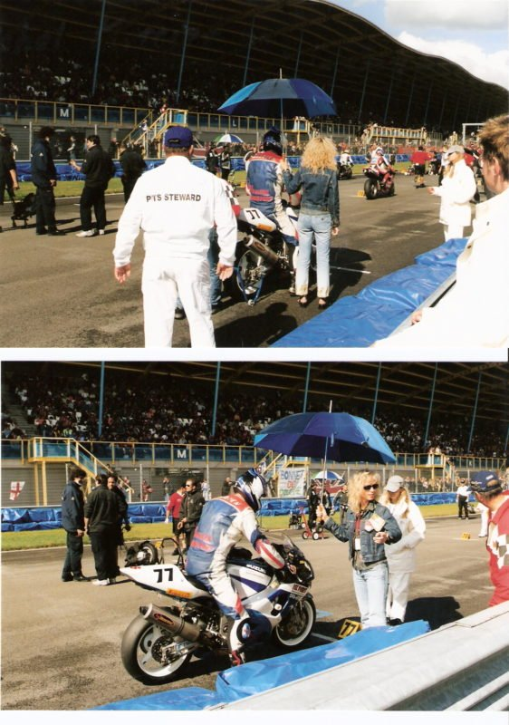 Vicki Gray World Superbike Grid Assen