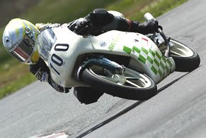 Testing a GP Honda RS125 Two-Stoke - Vicki Gray