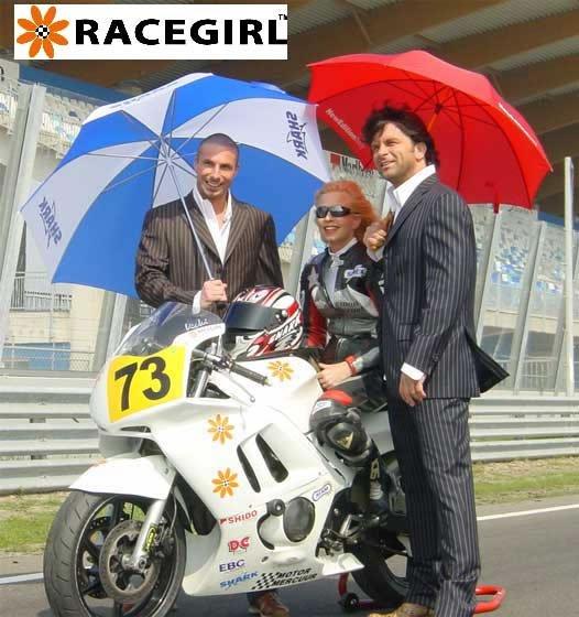 Vicki Gray RaceGirl Motoress