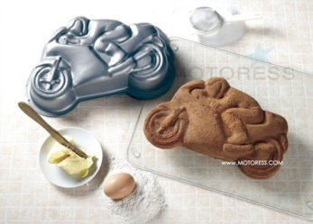 How About Some Motorcycle Race Cake?