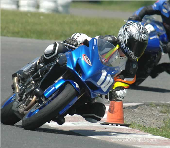 Woman Power Joining FAST Motorcycle Race Training Course - Vicki Gray