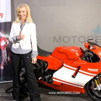 Ducati Desmosedici Vicki Gray on MOTORESS