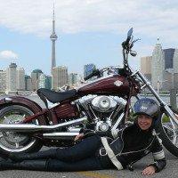 Harley-Davidson Rocker C Vicki Gray