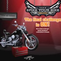 Spike your bike on MOTORESS