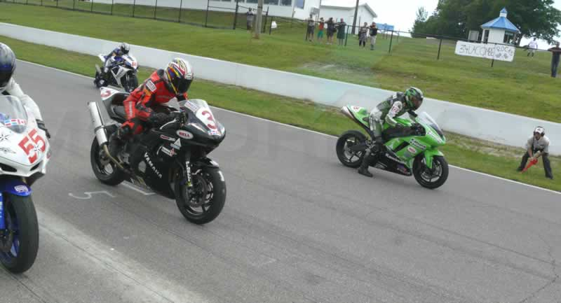 Canadian Women's Cup race on MOTORESS
