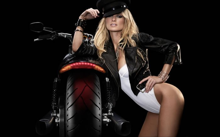 Marissa Miller on Motoress