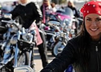 Harley-Davidson Kick-Starts 2009 International Female Ride Day
