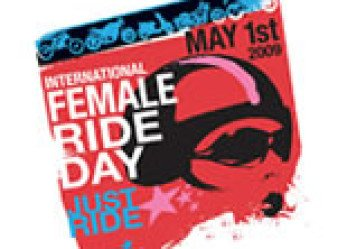 She's a Motorcyclist the 2009 International Female Ride Day Icon