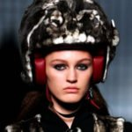 Lagerfeld's Fur Motorcycle Helmet Not A Woman's Answer to Stylish Gear