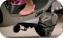 Training Wheels on a Scooter Keep you Balanced
