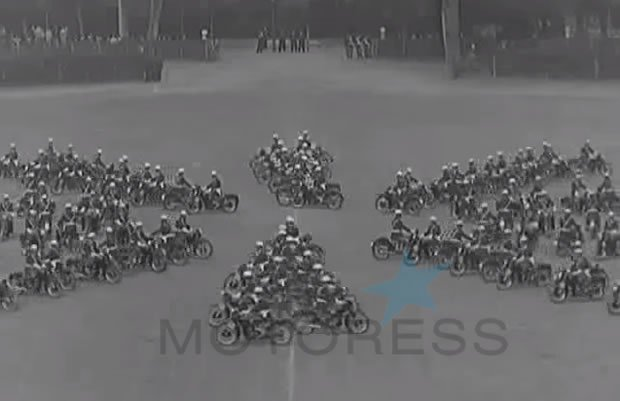 Italian Police Motorcycle Demo - motoress