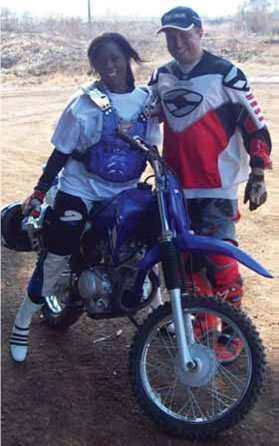 dolly mdiniso First Black MotoCross on Motoress