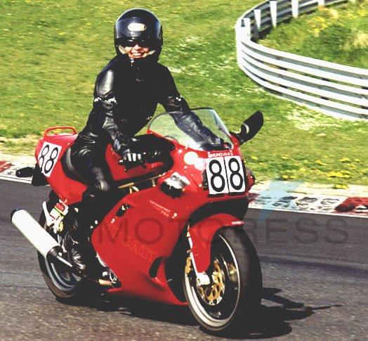 Vicki Gray Motorcycle Racer Ducati - MOTORESS