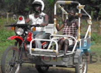 Motorcycle Ambulance Reducing Teenage Childbirth Fatalities