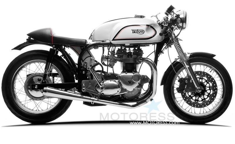 Café Racer Motorcycle on MOTORESS