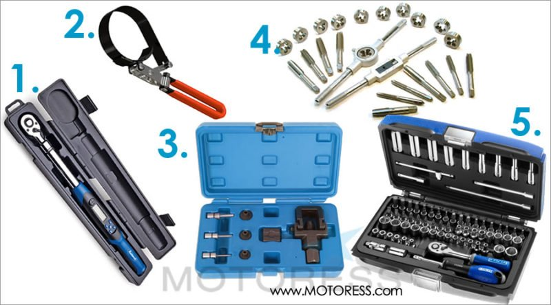 Essential Motorcycle Tools - MOTORESS