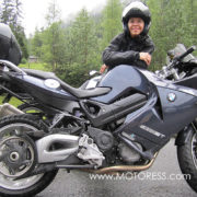 BMW F800ST on MOTORESS