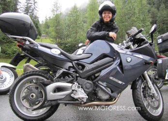 BMW F800ST Sport Touring Motorcycle – Long Distance Love Affair