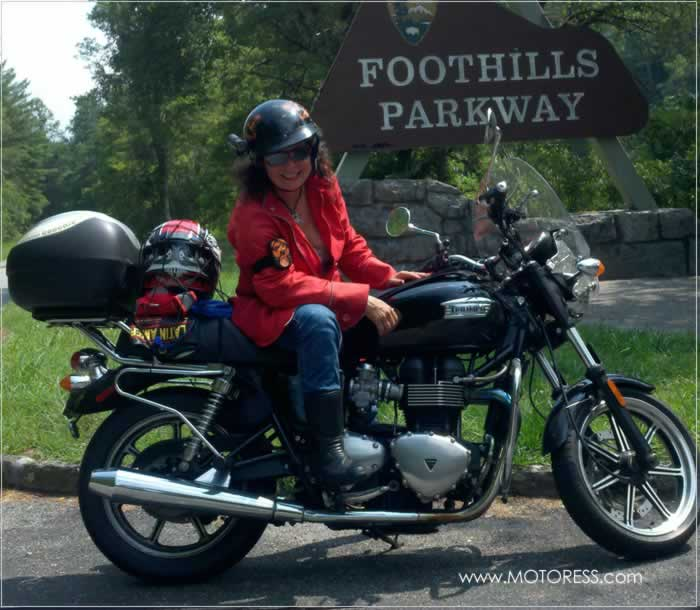 Miss Rider's USA Coast to Coast Motorcycle Trip - Your Story on MOTORESS