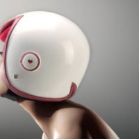 Luxy Vespa Helmet Concept on MOTORESS