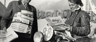 Ilse Thouret Woman Motorcycle Racer 1930's