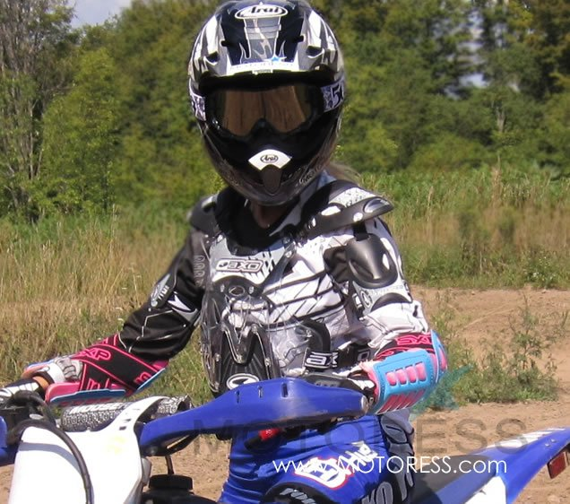 509 Dirt Pro Goggles on MOTORESS