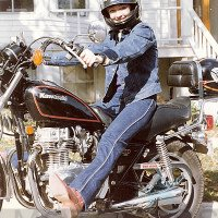 Vicki Gray MOTORESS First Motorcycle Ride