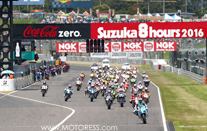Suzuka 8Hours on MOTORESS