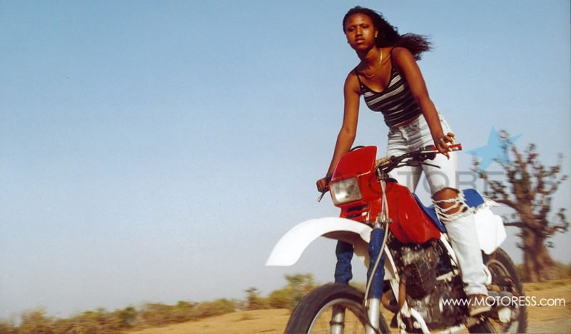 Girl from Senegal on MOTORESS