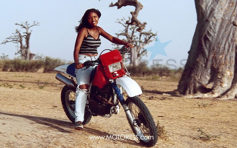 Somone Girl from Senegal on MOTORESS