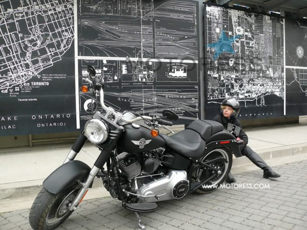 Harley Davidson Fatboy Lo Ride Review Woman Motorcycle