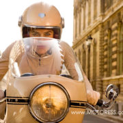 Coco Chanel Motorcycle Advert on Motoress