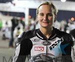 Woman Racer Motoress