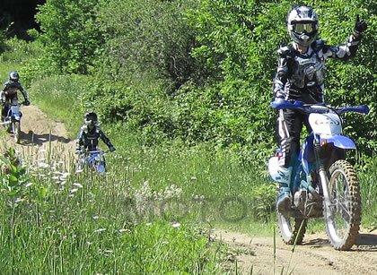Vicki Gray Off Road Woman Rider