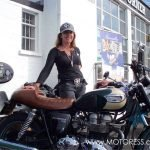 Zoe Cano Bonneville Go or Bust Ride Adventure Across America