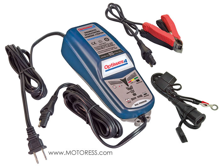 OptiMATE 4 Battery Charger MOTORESS