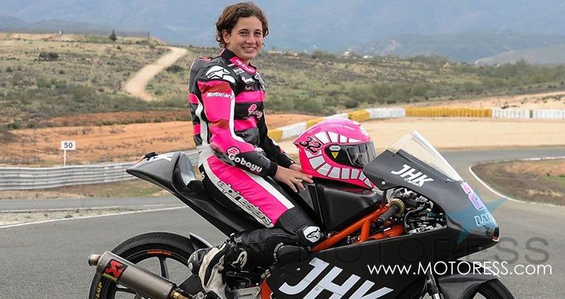 Ana Carrasco First Moto 3 Female Rider - MOTORESS
