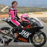 Ana Carrasco First Moto3 Female Rider