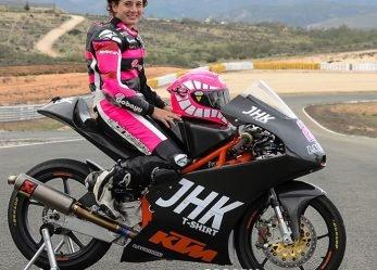 Ana Carrasco First Moto3 Female Rider