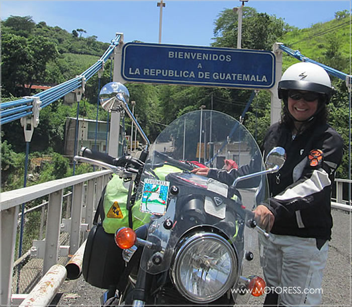 Miss Rider Rides Panama - Your Story on MOTORESS