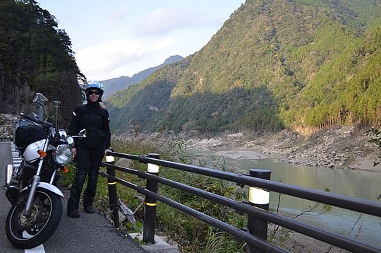 Vicki Gray Riding in Japan