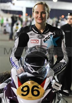 NinaPrinz woman motorcycle racer on Motoress