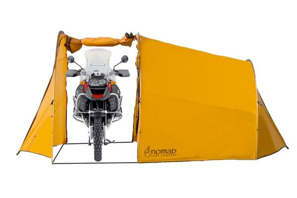 Motorcycle Tent for Camping and Touring on MOTORESS