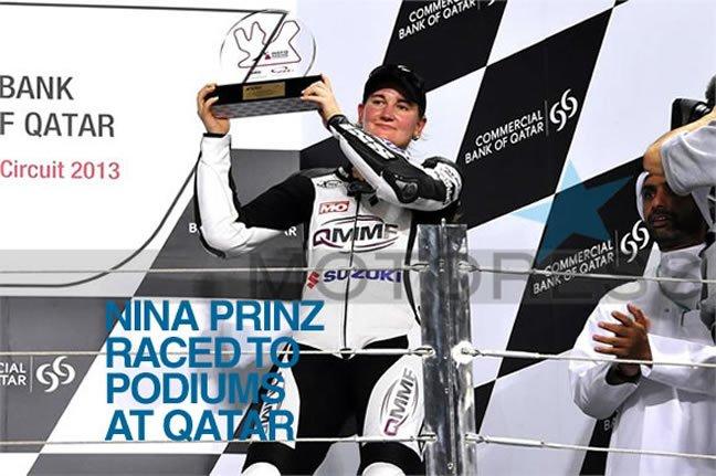 Nina Prinz Podiums Qatar