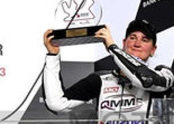 Nina Prinz Qatar Podium Only Woman In the Series