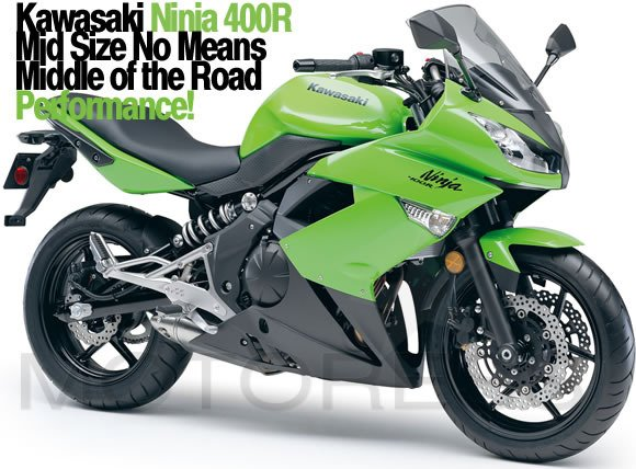 Kawasaki Ninja 400R women and motorcycles Motoress