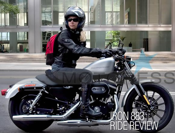 Harley Davidson Iron  High Speed