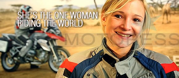 Riding the World BMW Woman Rider - MOTORESS