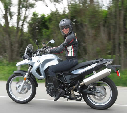 BMW F650GS Ride Review Woman Rider